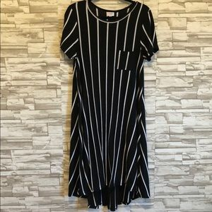 LuLaRoe Carly high-low dress with pocket